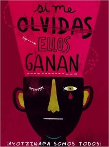 Plakate und Poster über Ayotzinapa