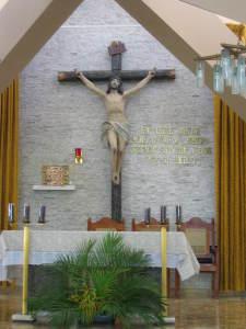 Die Kirche, in der Romero erschossen wurd