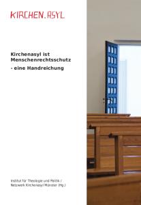 Cover Kirchenasylbroschüre