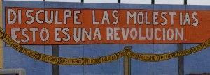 Entschuldigen Sie die Belästigung: Das ist eine Revolution. Chile 2013