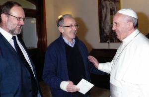 Sobrino_Papst_13Nov2015